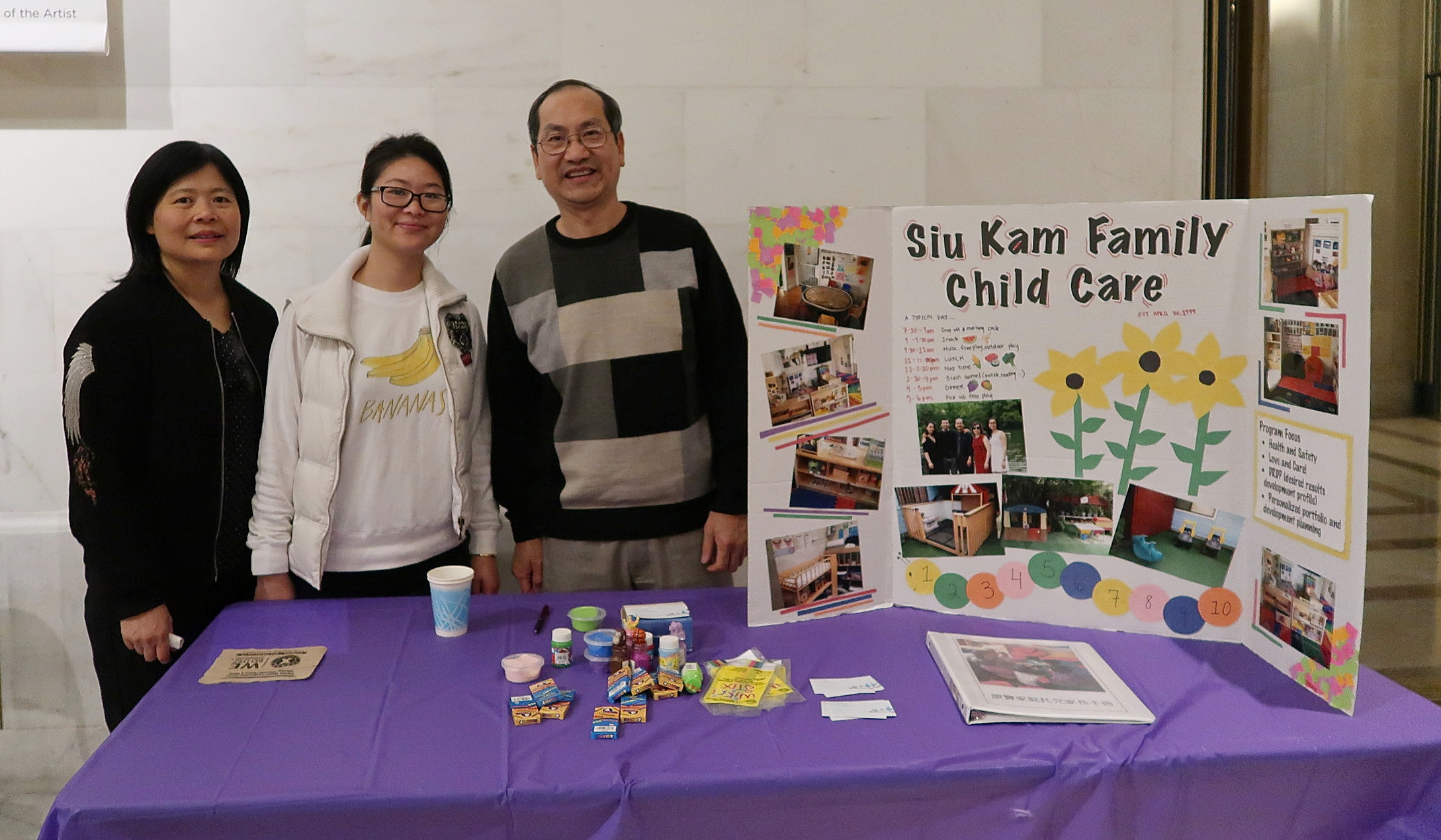 Wu Yee Children's Services was well-represented at the OECE Preschool Fair with its FCCQN, ERSEA, FRC, and R&R Network present.