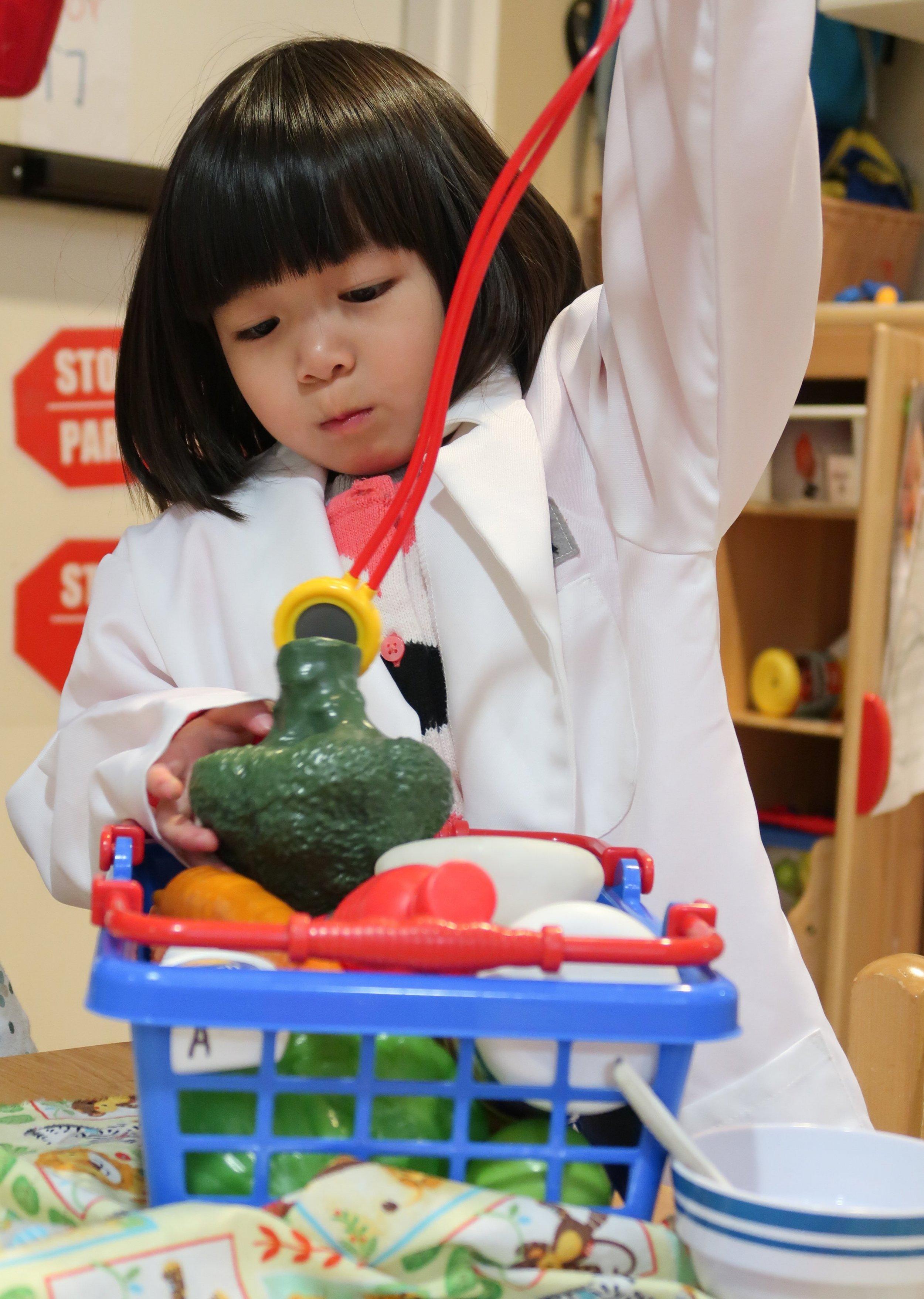 Playtime at Lok Yuen Child Development Center