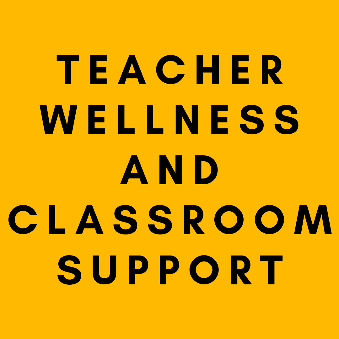 Support teachers  through technology training, team-building and wellness support, and deep-cleaning learning materials and maintaining classrooms.