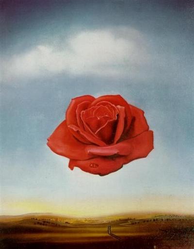 Meditative Rose , Salvadore Dalí, 1958