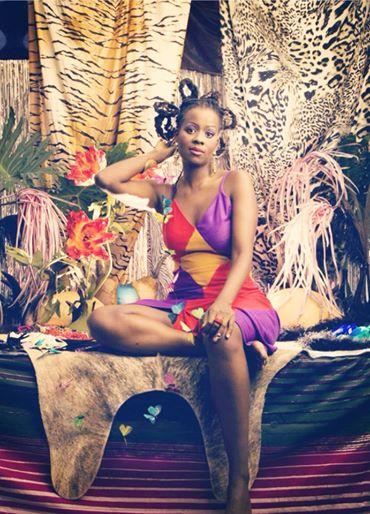 Photo art directed by Wangechi Mutu and shot by Matthew Furman