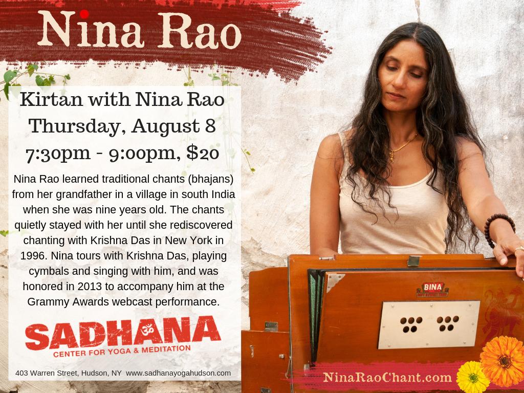 Events — Nina Rao Chant