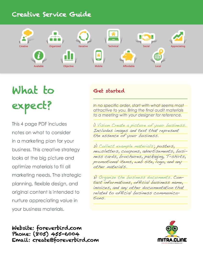 Creative Service Marketing Guide