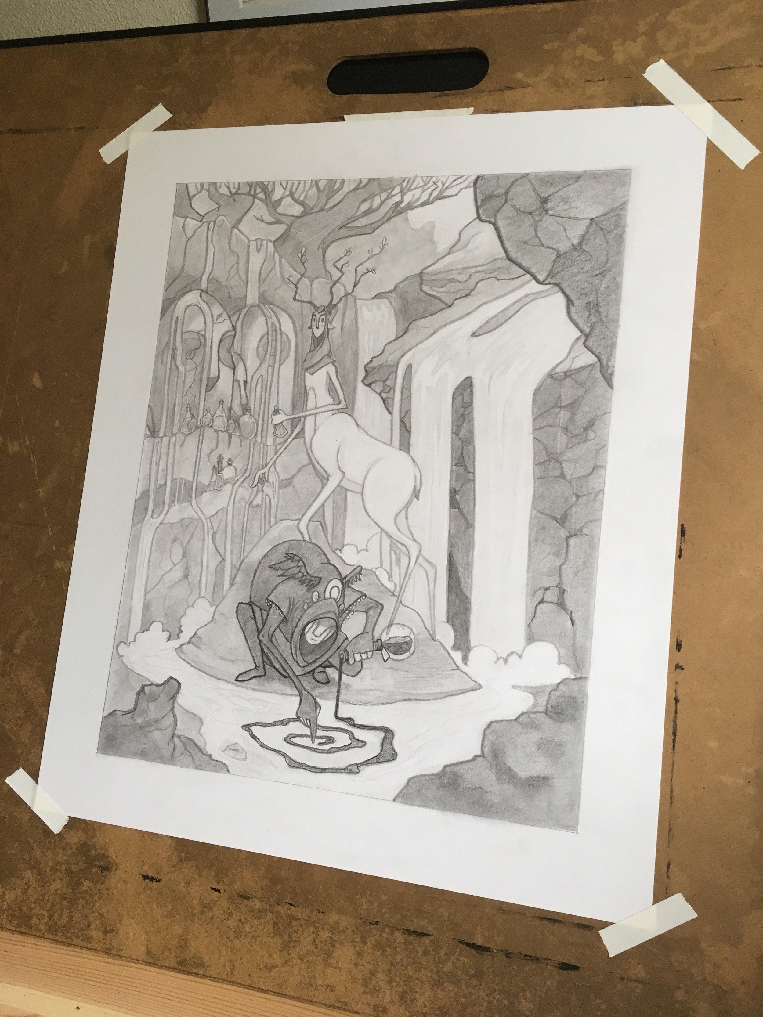 Gloamlings drawing