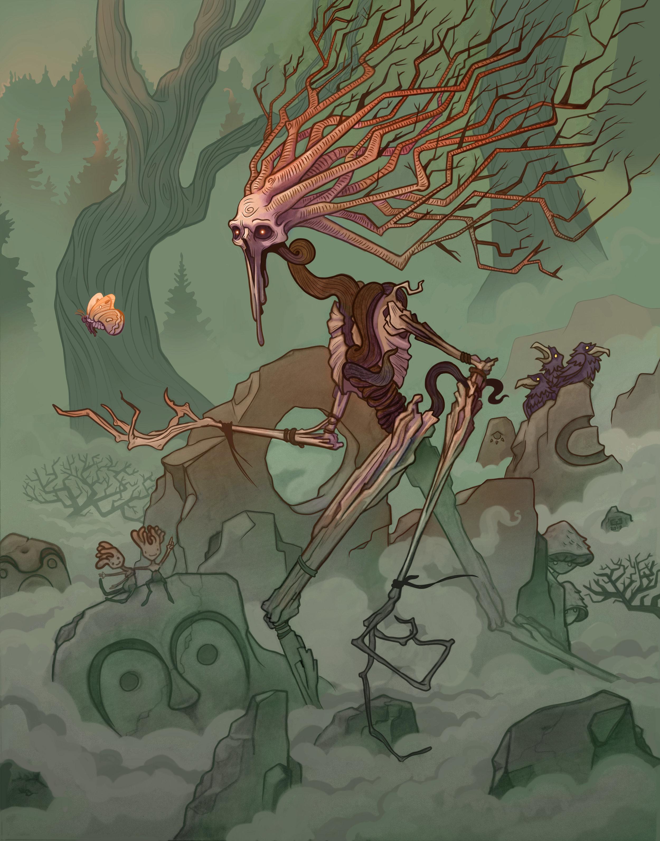Phantom of the Pines