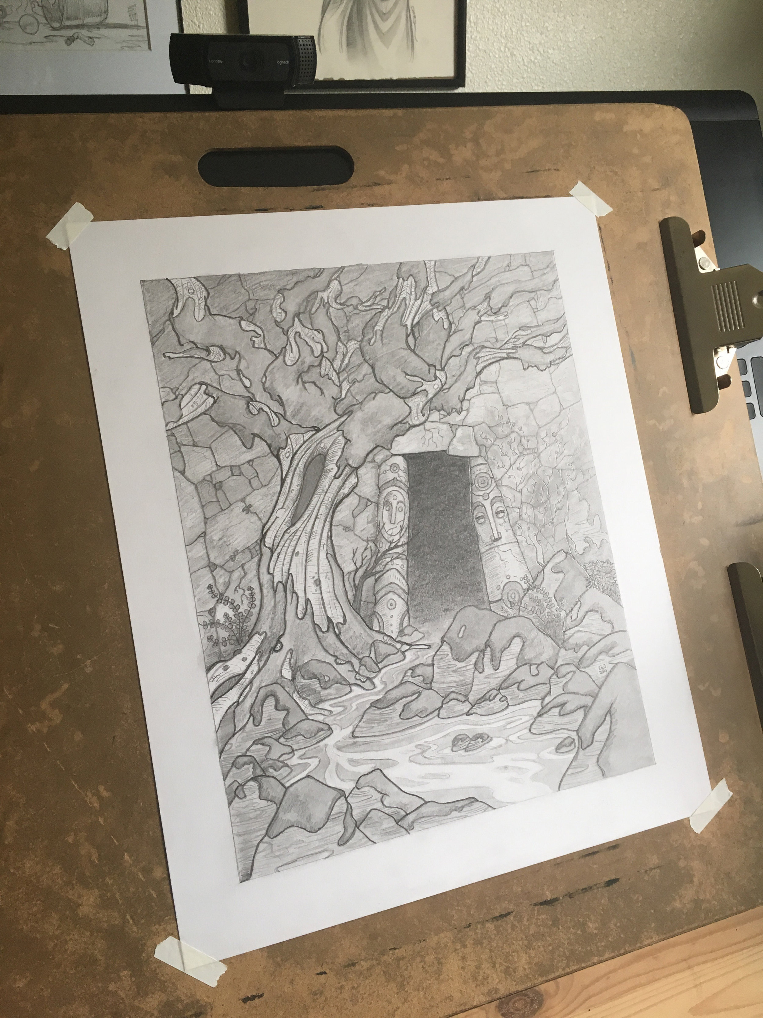 The Forest Gate Original Drawing