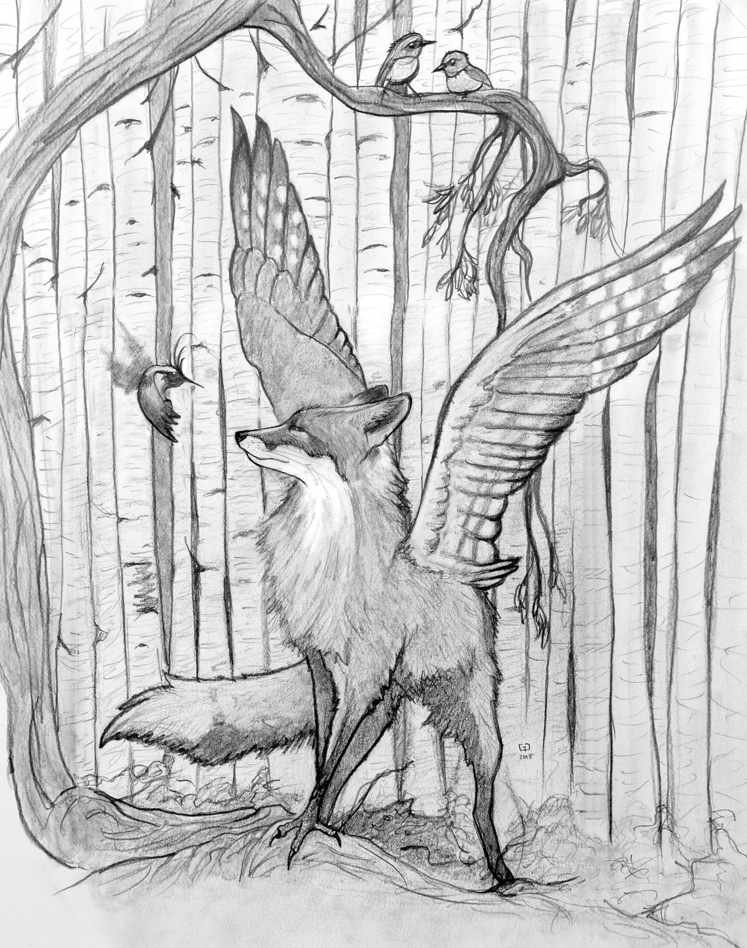 Avatar of Inari Original Drawing (NFS)