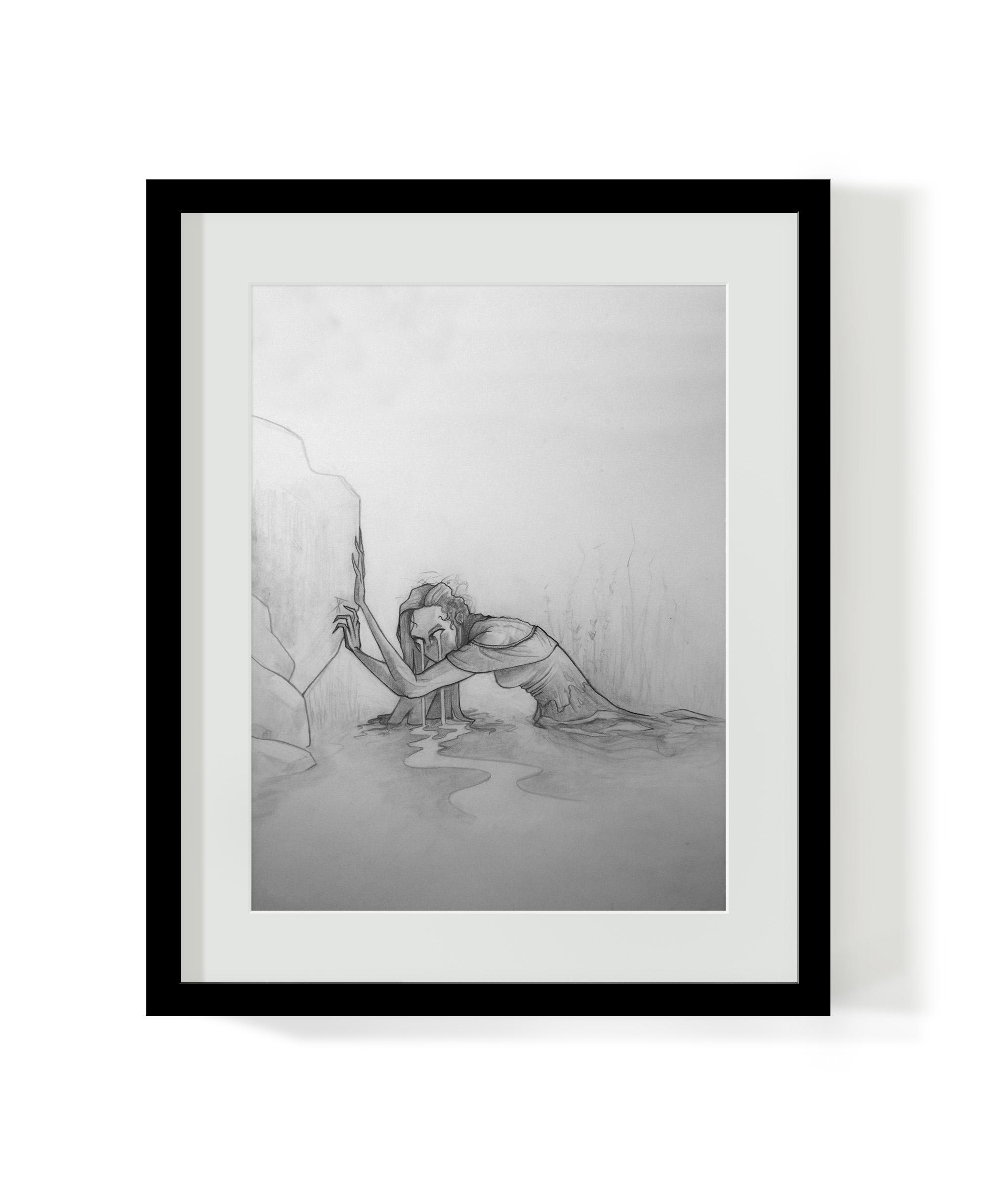 La Llorona Original Drawing (Sold)