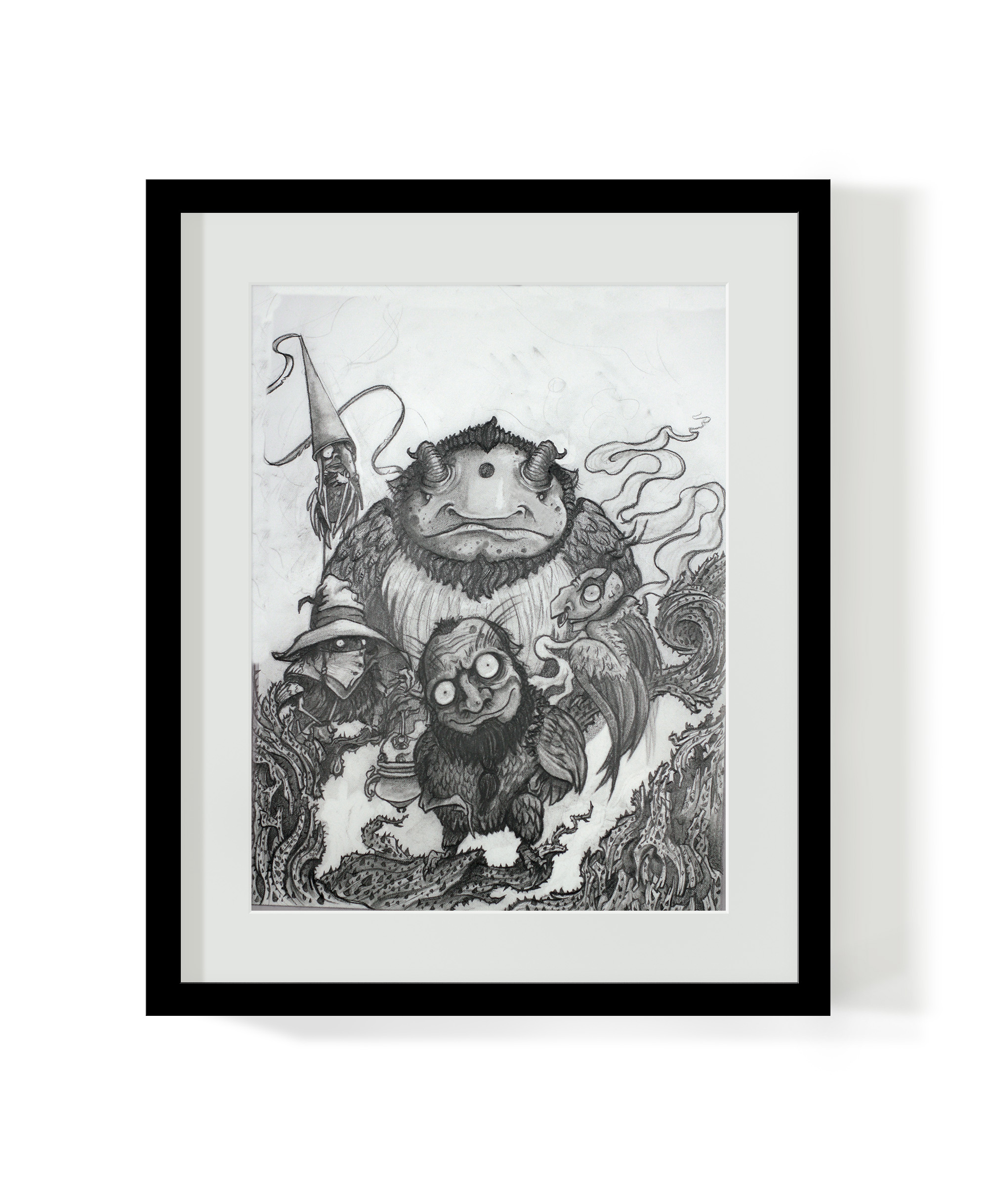 The Strix Original Drawing (Sold)
