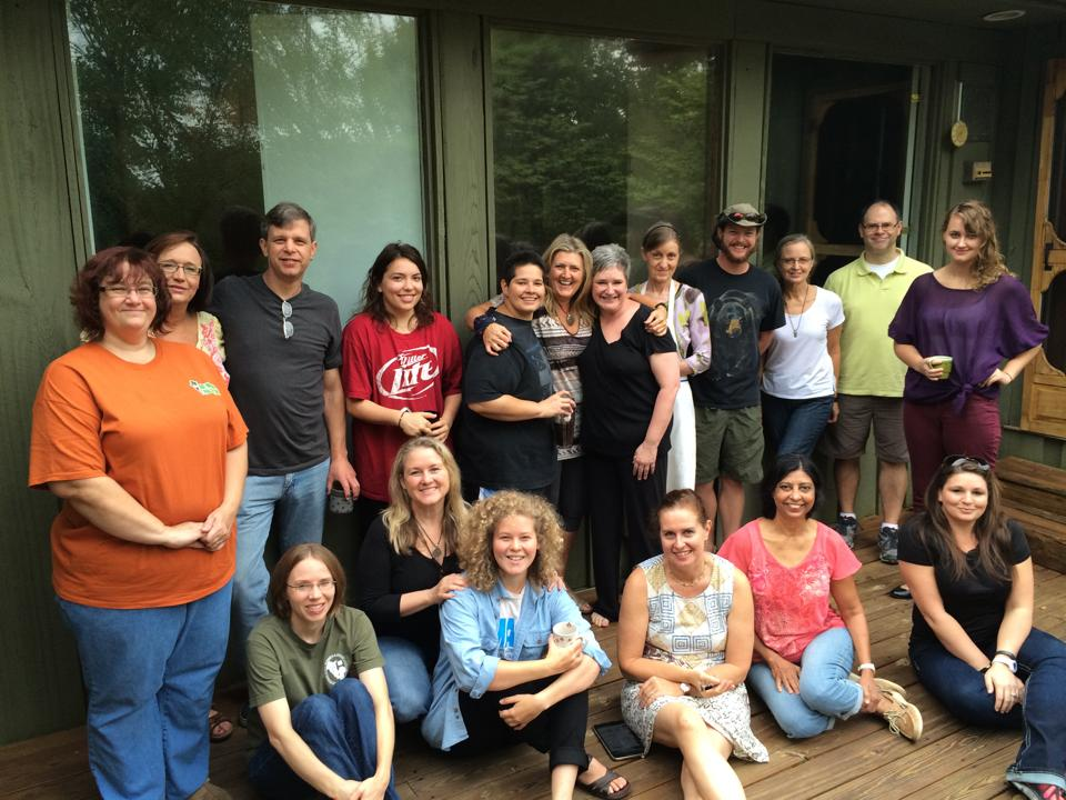 Participants in our Nourish Weekend Retreat on Reclaiming Real Food