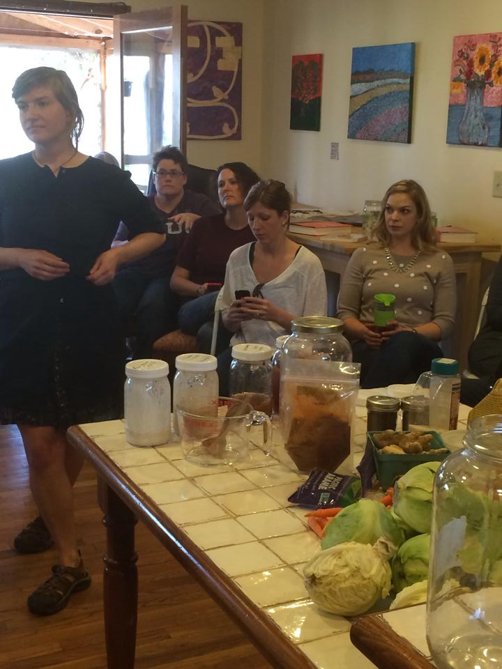 Tara brought her fermentation bus to The Homestead to over 40 enthusiastic participants who swapped cultures.