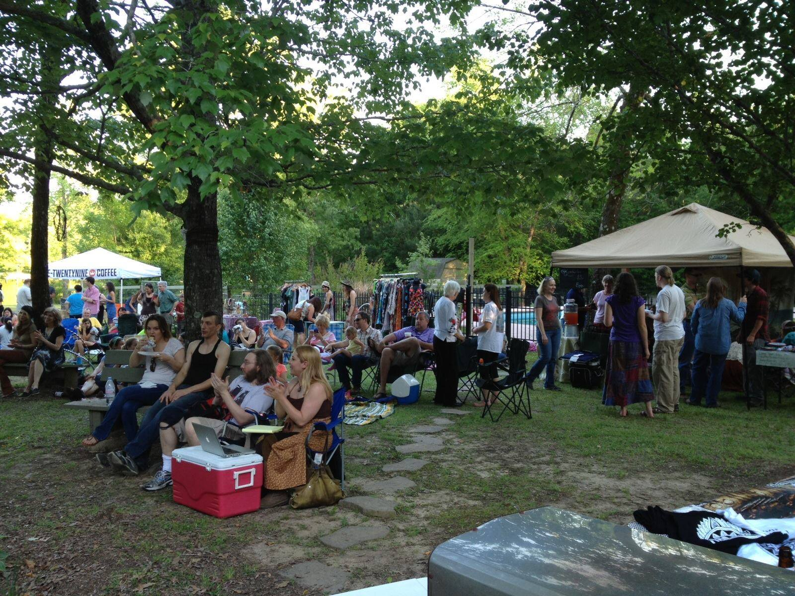 Benefit for Magnolia Reed - Rising Appalachia brought in almost $5000