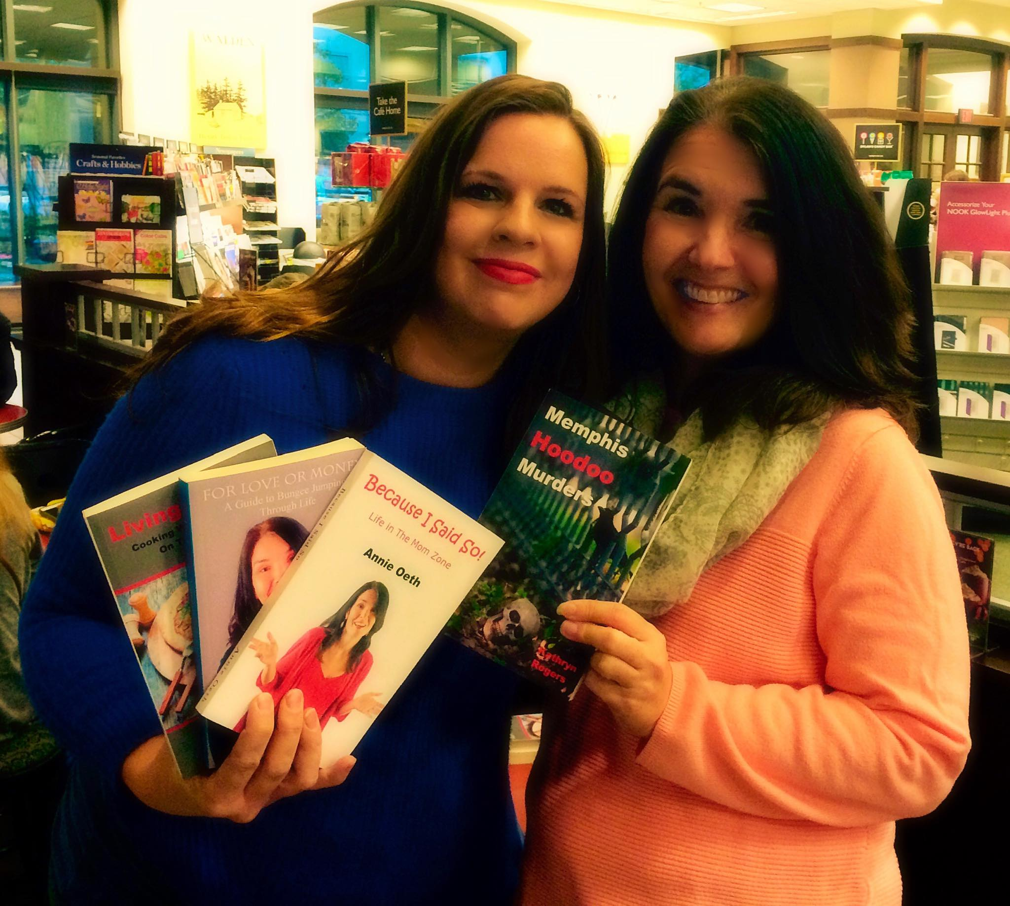 Authors Kathryn Rogers and Annie Oeth