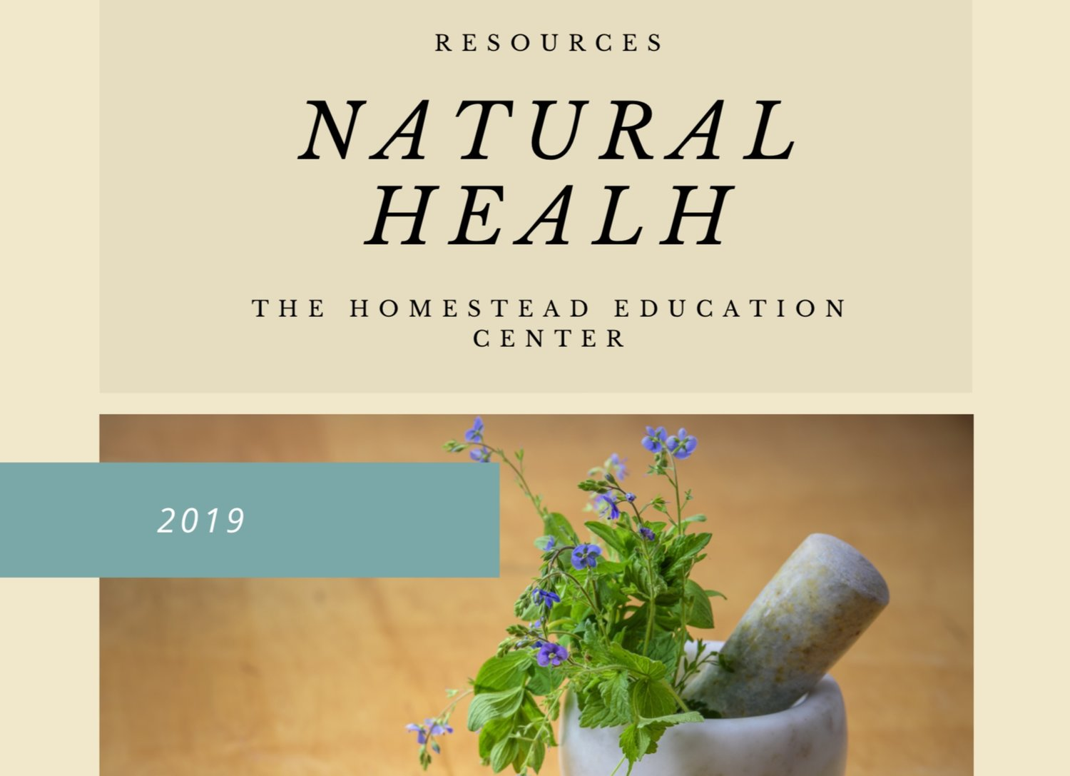 Click to download Natural Health resource guide