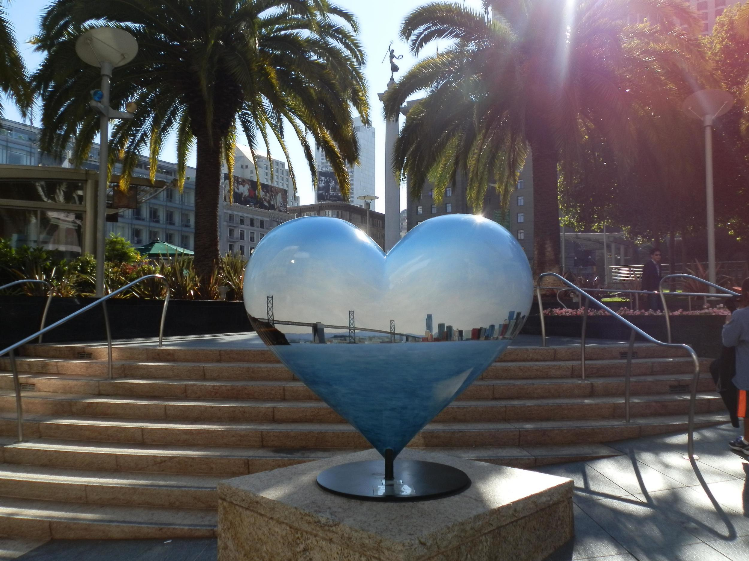 FAMOUS HEART AT UNION SQUARE