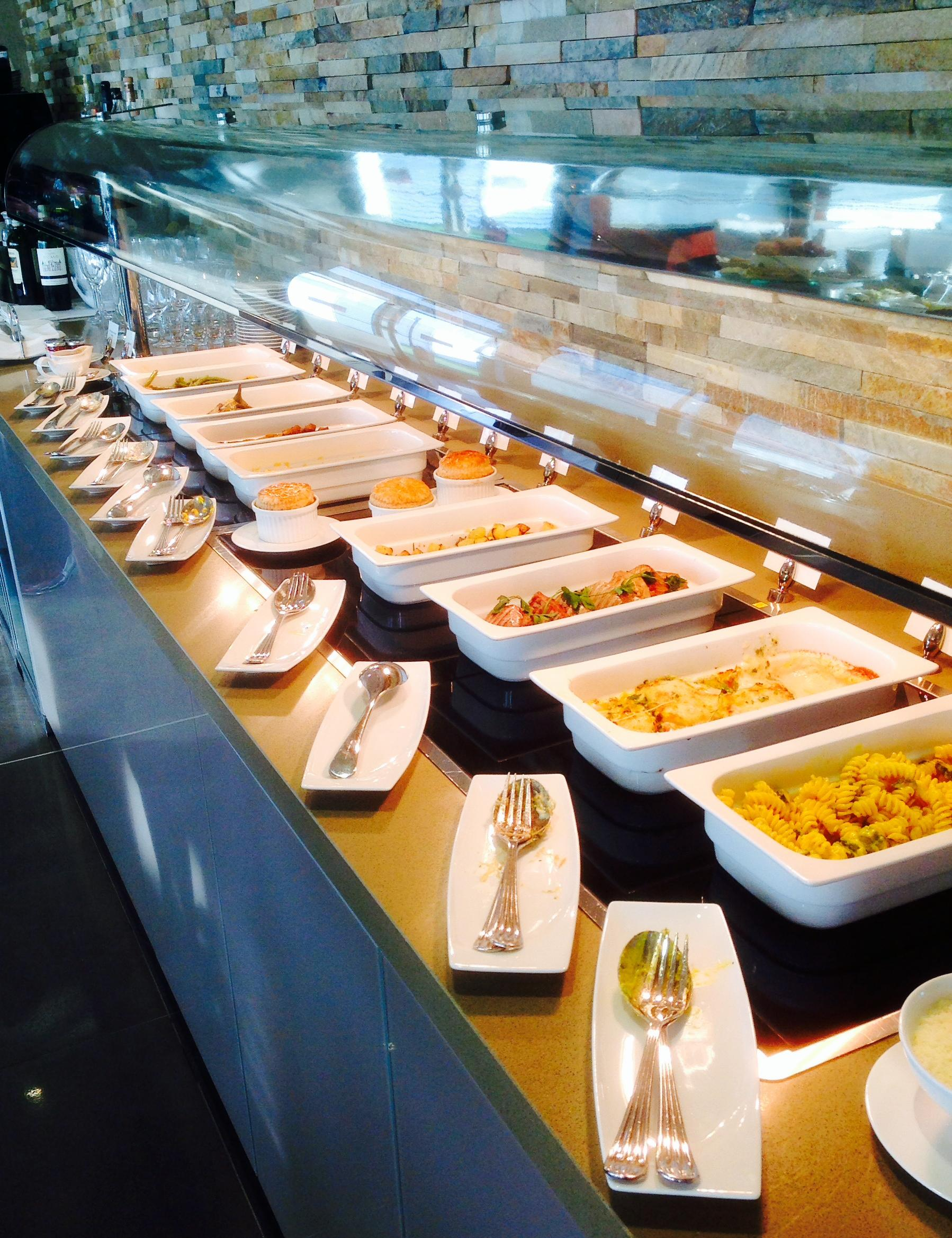 Hot Buffet Selection