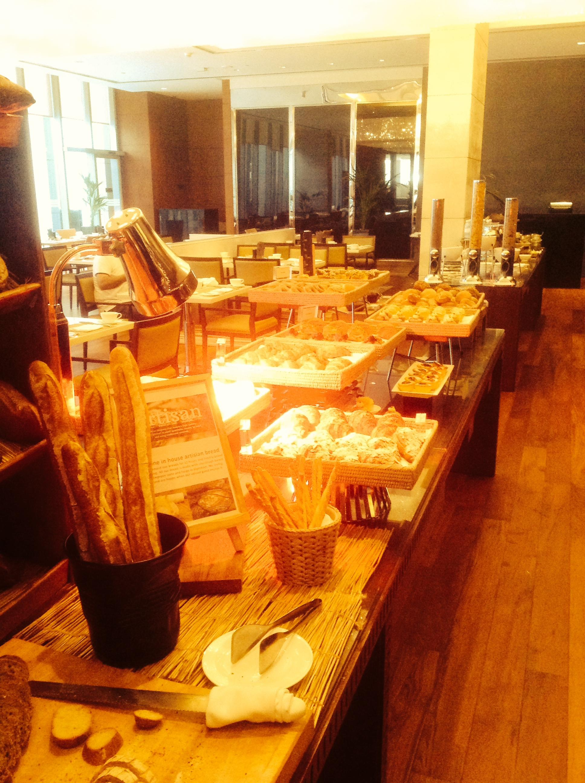 Every carb your heart desires at the breakfast buffet!