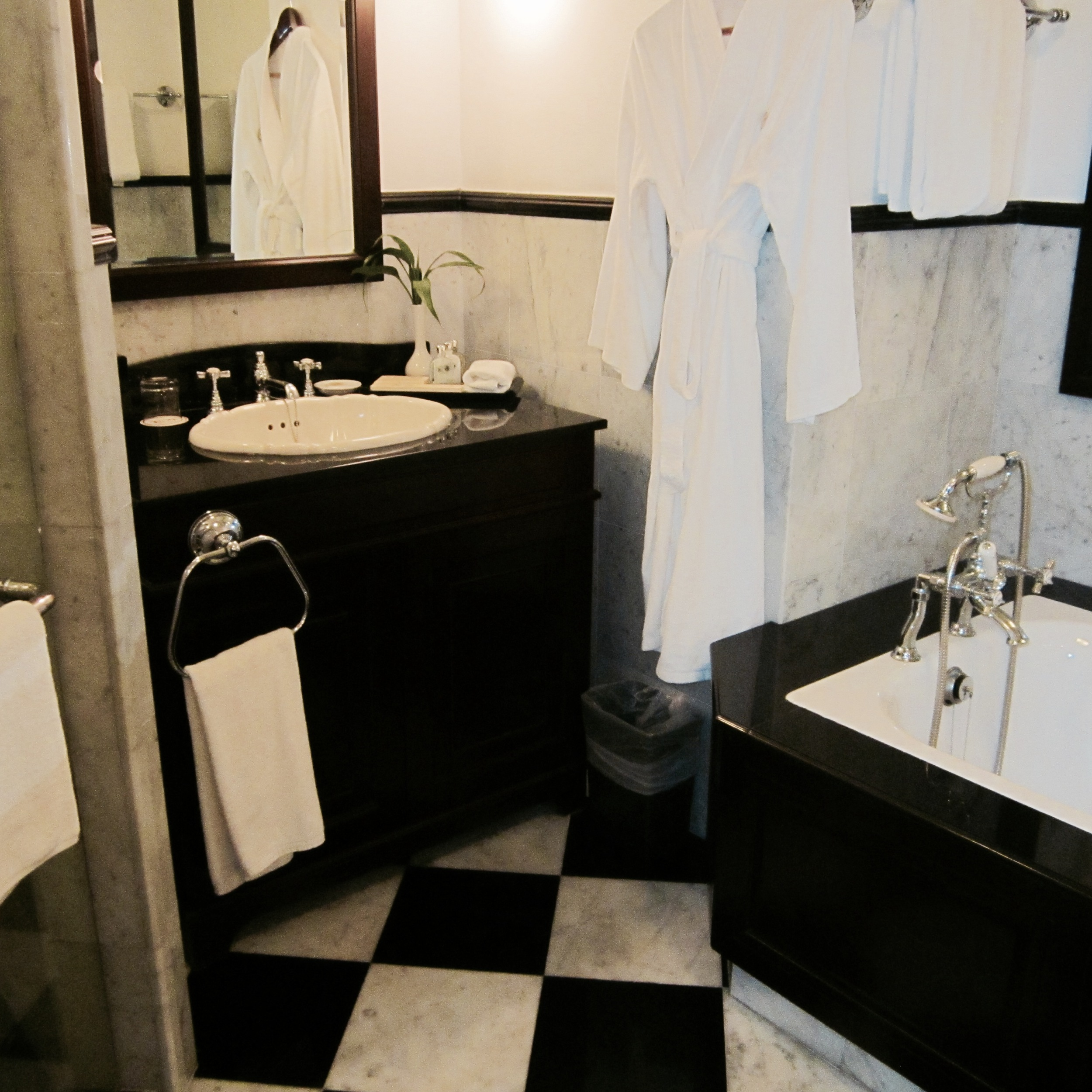 Bathroom- separate shower and bathtub