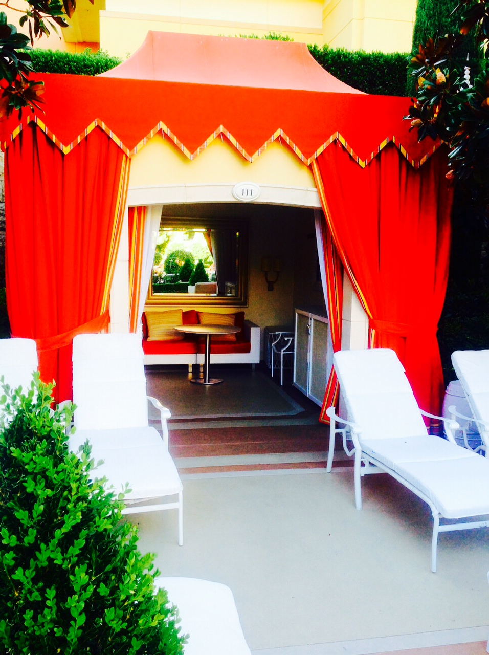 Private Cabanas for Rent