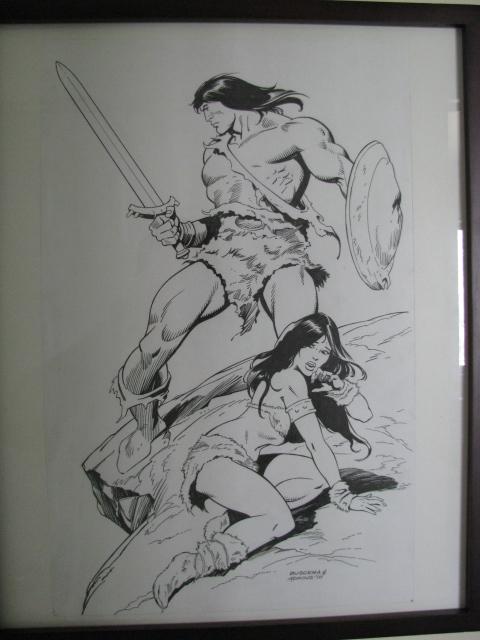 Dan Adkins - Conan