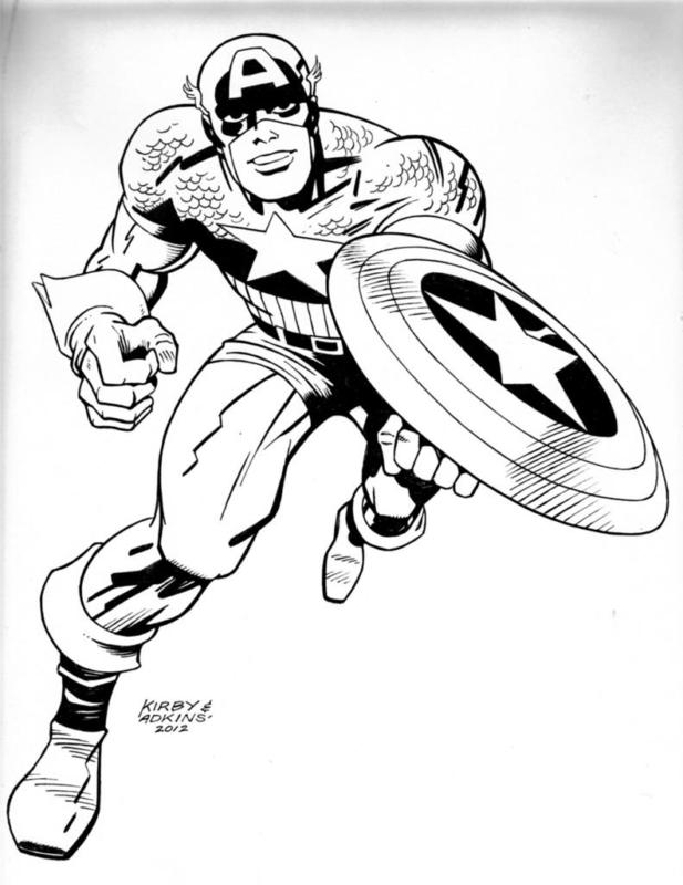 Dan Adkins - Jack Kirby
