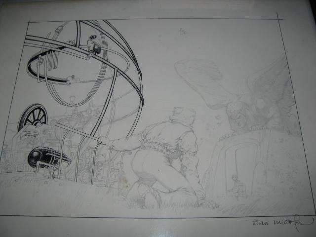Berni Wrightson Pencils H.G.Wells Time Machine