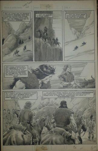 Savage Sword of Conan #84