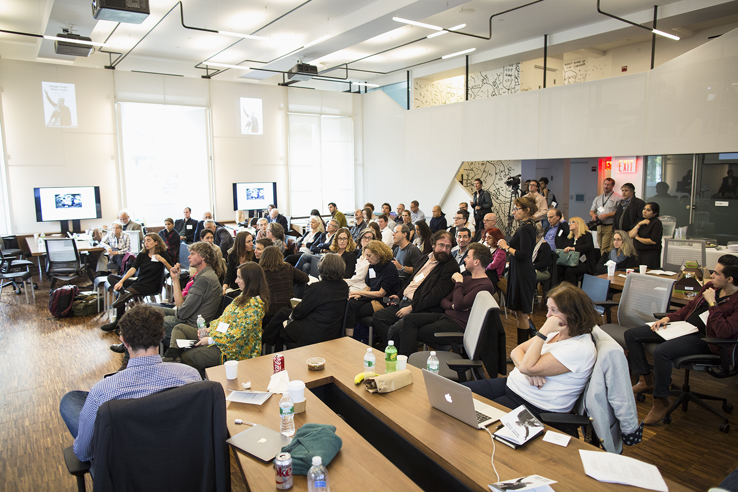 Audience at Image Truth/Story Truth Conference, Columbia Journalism School, NY, NY, October 16, 2015
