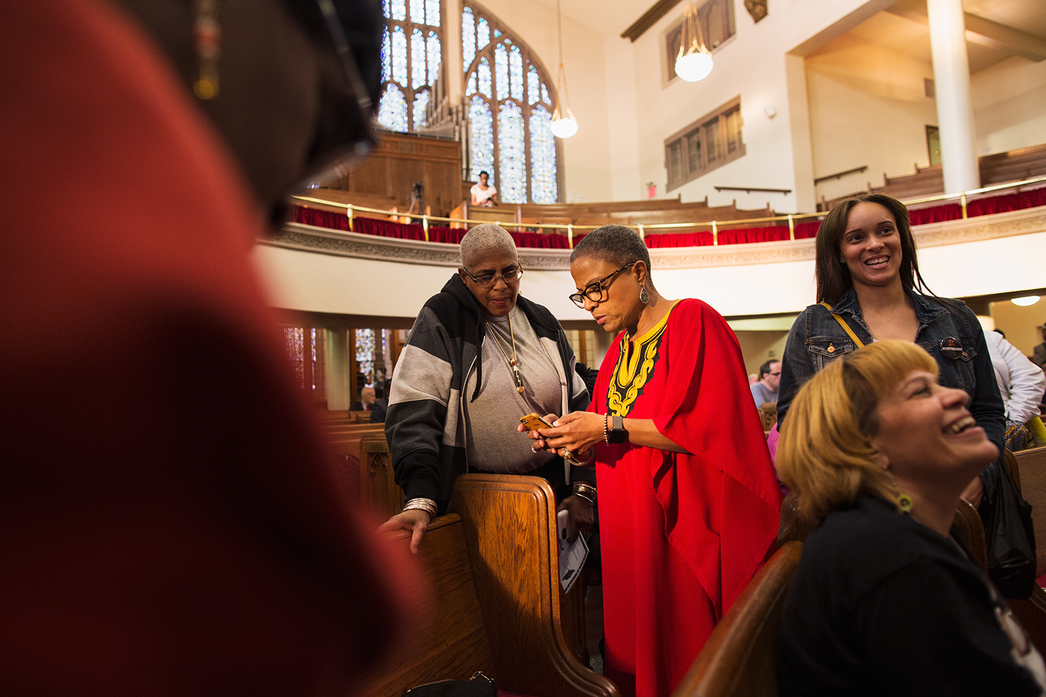 Interfaith service at Harlem's historic  Abyssinian Baptist Church  organized by advocacy group  VOCAL-NY  to call for end to the war on drugs on the eve of the United Nations General Assembly Special Session on the world drug problem ( UNGASS ), NY, NY, 2016