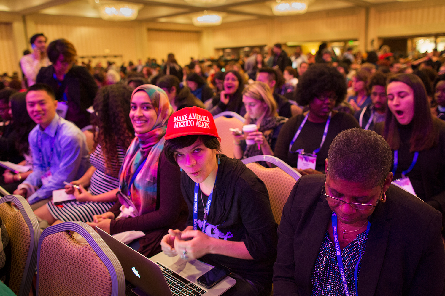 Facing Race 2016 attendees, Atlanta, GA, 11 November