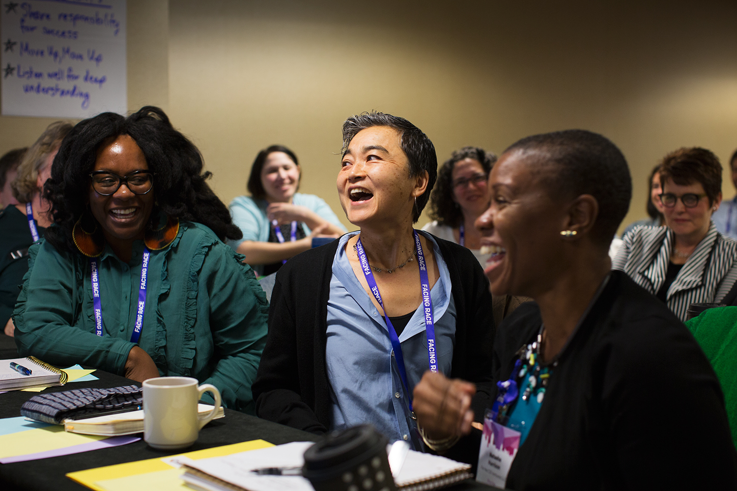 Racial Justice Leadership Institute at Facing Race 2016, Atlanta, 10 November