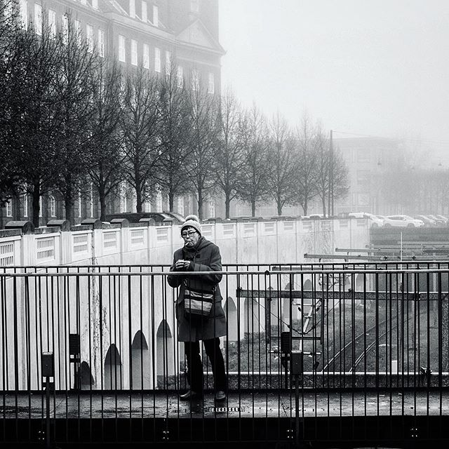 Taking a Break...|Copenhagen| DEN Black and White City Series 1