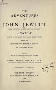 Click the title page of John Jewitt's published journal to read it for yourself!