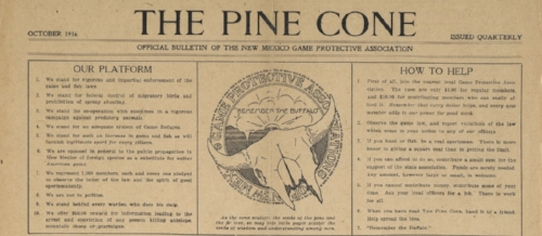 An issue of The Pine Cone newspaper lays out their guidelines for protecting and aiding wild game animals.