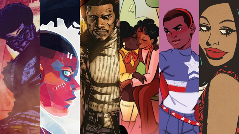 Take a look at more comics written by Black Graphic Novelists   HERE