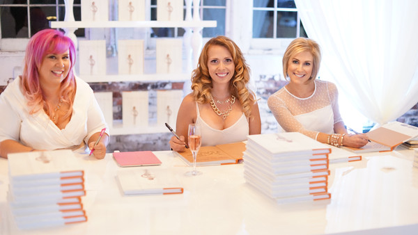 Photographer and authors Carla Ten Eyck, Candice Coppola and  Beth Chapman