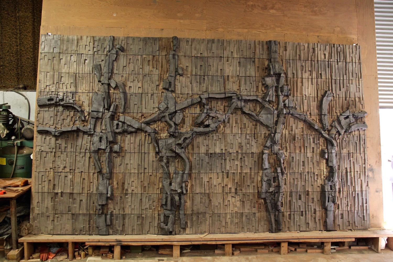 Ceramic mural