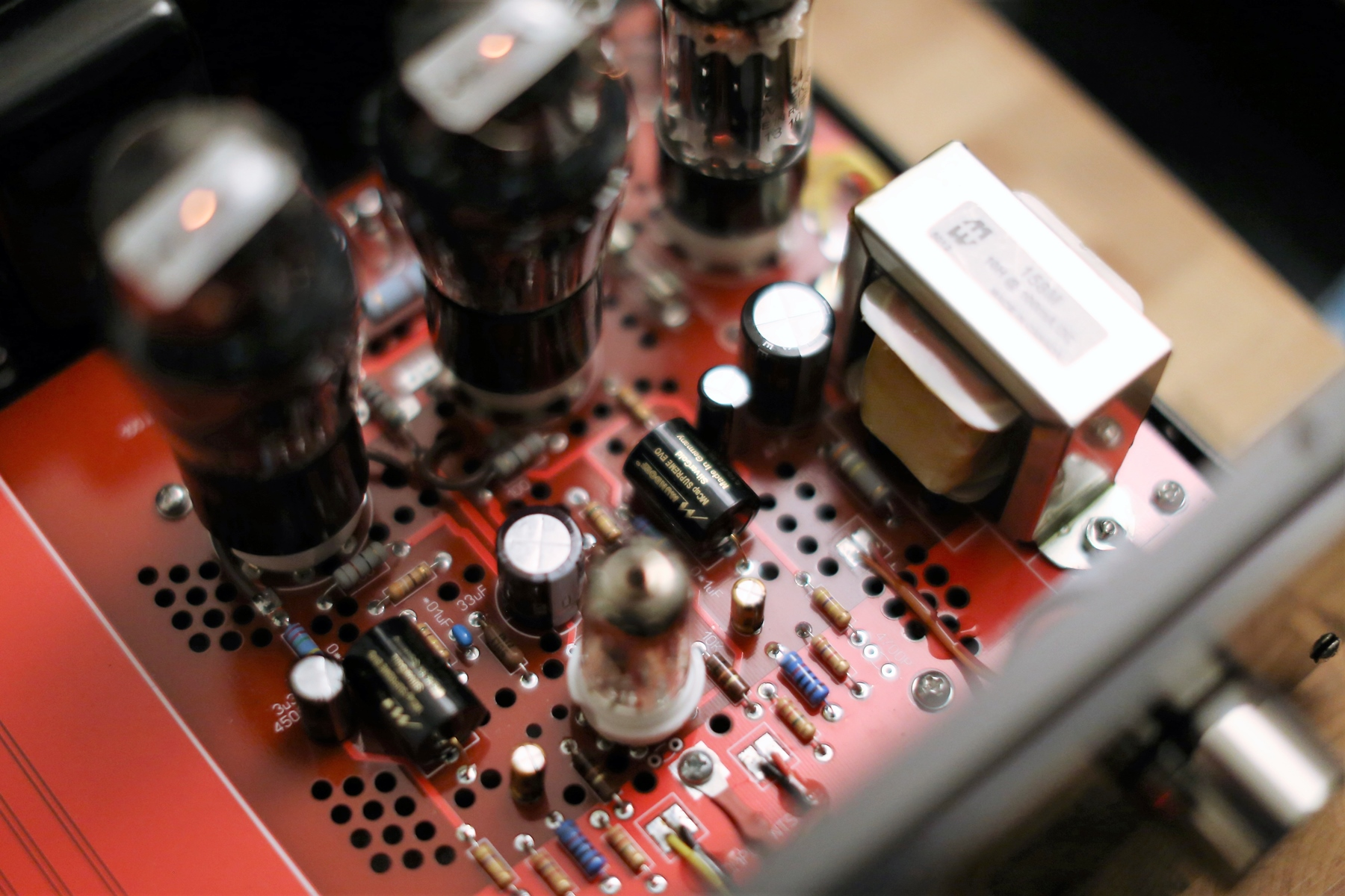 The front end is handled by the most powerful preamp tube - 12AX7, can another tube do this duty? Perhaps not.
