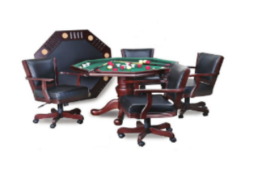 Dining, Poker & Bumper Pool Table
