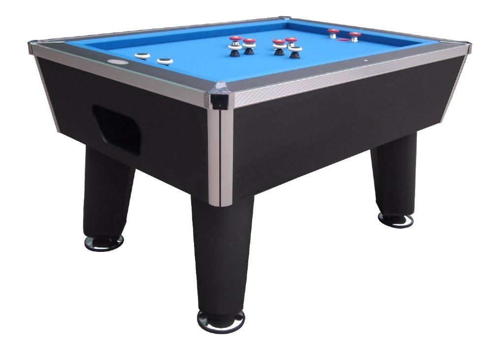 """The Brickell"" Pro Slate Bumper Pool Table in Black"