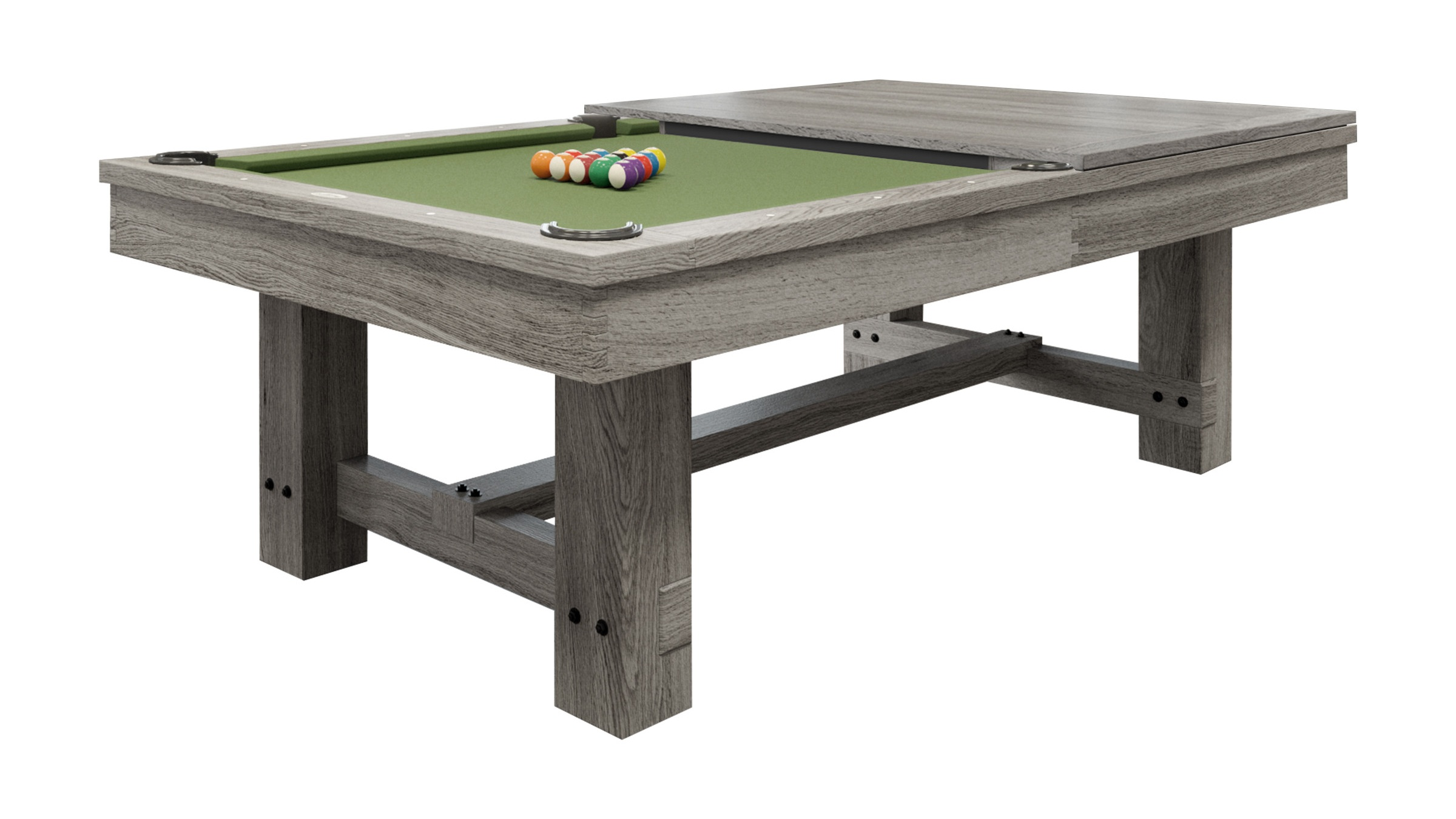 The Reno - Silver Mist with Dining Top