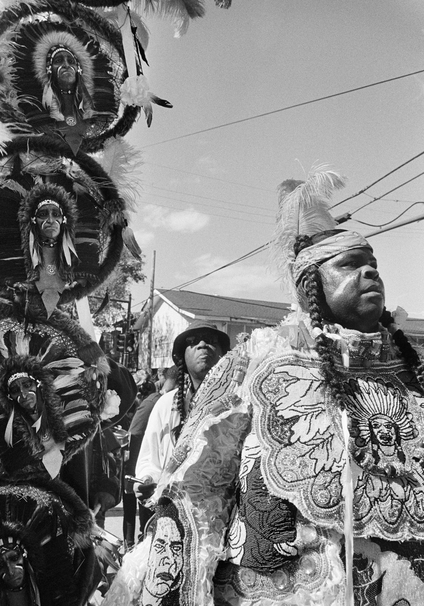 Mardi Gras Indians' Super Sunday, New Orleans