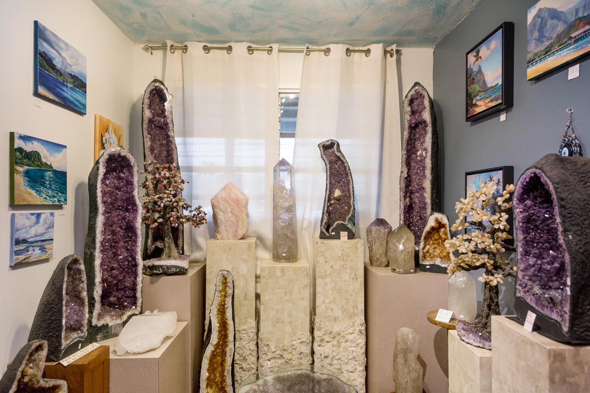 Crystals and Gems Gallery, Kaua'i