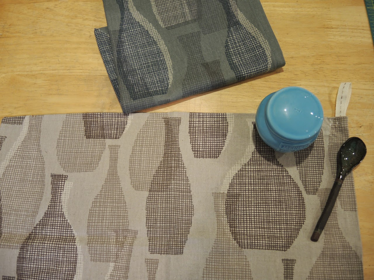 tea towel (spoon by  Cor Pottery)