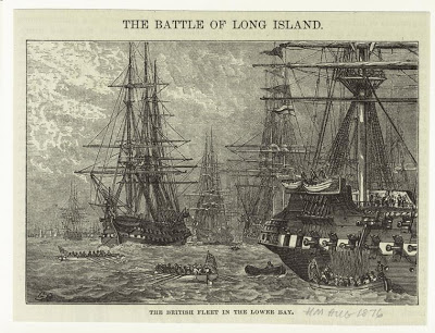 The British Fleet as imagined by Harper's Magazine in 187