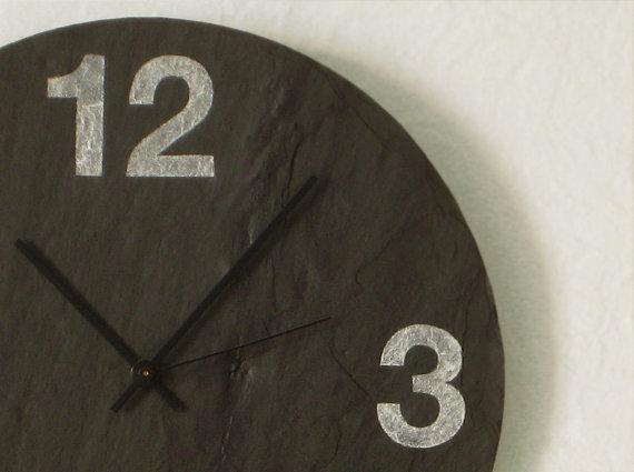 Simply Nu slate clock