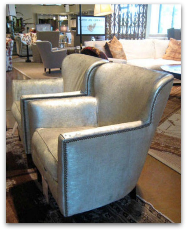 Fall-Home-Trend-Metallic-Leather-Chair
