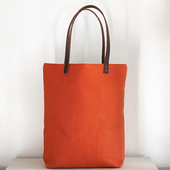 water repellent tote from Jenn Eng Studio