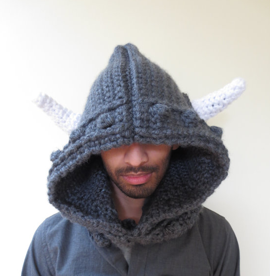 Viking Hoodie from Minerva Knits