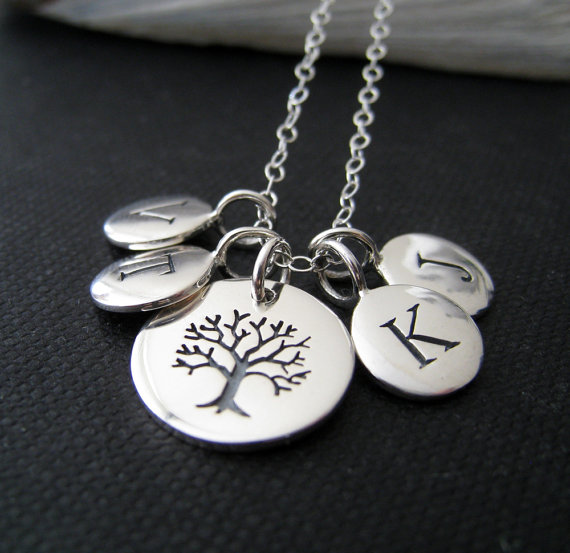 Family Tree Necklace from NYmetals